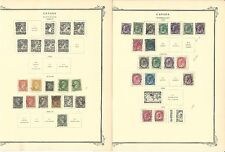 Canada Collection 1851 to 1950 on 46 Scott Specialty Pages, Scv $1050