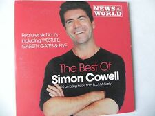 THE BEST OF SIMON COWELL PROMO CD WESTLIFE FIVE GARETH GATES