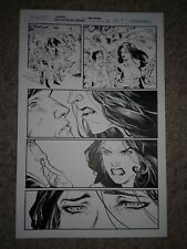 GREEN LANTERN NEW GUARDIANS 37 pg 2 STAR SAPPHIRE & KYLE TRAPPED ON OLD GENESIS