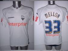 Preston North End Mellor Player Matchworn Medium Shirt Jersey Football Soccer 08