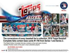 2018 Topps Baseball Retail Factory Set (705) Ohtani, Torres, Acuna, Albies RC