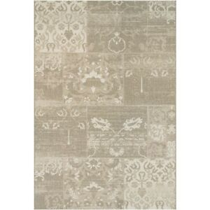 """Couristan Afuera Country Cottage Beige & Ivory Indoor/Outdoor Rug, 2'2""""x7'10"""" Rn"""