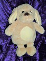 "Target 13"" Stuffed Plush Puppy Dog Soft Cream Tan Beige Baby Toy"