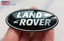 Land Rover Sport Supercharged Tailgate / Grille Emblem Black Oval Logo Badges (Fits: Land Rover Freelander)