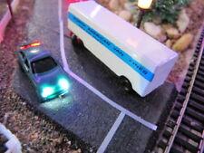 HO SCALE CARS 2 ea ILLUMUNATED HEAD & TAIL LIGHTS 6-12v LED variable brightness
