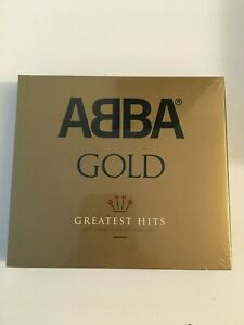 ABBA GOLD (40th ANNIVERSARY EDITION) NEW & SEALED (3 CDs)