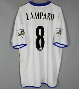 CHELSEA LONDON 2003/2004/2005 AWAY THIRD FOOTBALL SHIRT JERSEY UMBRO #8 LAMPARD