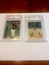 2 card lot of perfect graded 10s, Rookie 92 4sport classic and 93 Bowman Jeter!!