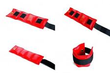 2.50 lbs Red 2.5 lb Ankle and Thigh Weights The Cuff Secure Fit Wrist