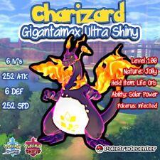 Pokemon Sword And Shield Ultra Shiny Gigantamax Charizard / 6iv/Jolly/Pokerus