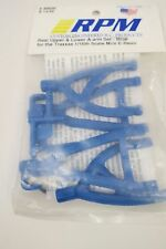 RPM 80605 Rear Upper & Lower Suspension A-Arms(4) Blue Traxxas Mini Revo 1/16th