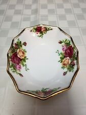 Royal Albert Old Country Roses Bone China Oval Dish for Candy or Trinkets