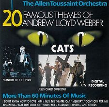 THE ALLEN TOUSSAINT ORCHESTRA : 20 FAMOUS THEMES OF ANDREW LLOYD WEBBER / CD