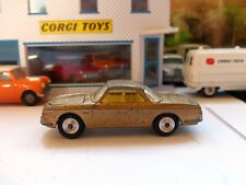 Corgi Toys 239 VW 1500 Karmann Ghia in gold, yellow interior (2)