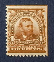 Scott US #303 - 1902-03 Grant, 4 Cents; Mint Never Hinged, OG; CV=$140