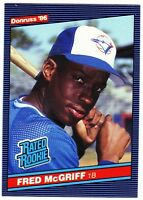 1986 Donruss #28 Fred McGriff Rookie Card