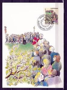 Maxi Card E01 Liechtenstein 1986 spring traditions