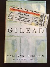 Gilead by Marilynne Robinson (SIGNED, First Edition, First Printing)