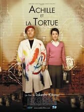 Affiche 120x160cm ACHILLE ET LA TORTUE /AKIRESU TO KAME 2010 Takeshi Kitano