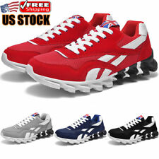 New listing Men's Athletic Running Sneakers Fashion Training Casual Breathable Tennis Shoes