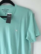 ABERCROMBIE & FITCH Mens T Shirt - Size M - BNWT - Mint Green