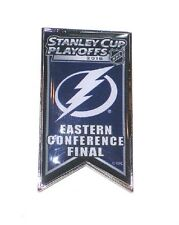 Tampa Bay Lightning Lapel Pin Banner Design 2016 Stanley Cup Conference Finals
