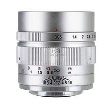 Zhongyi MITAKON II Speedmaster 35mm f/0.95 to EOS M M3 M6 camera Sliver Version