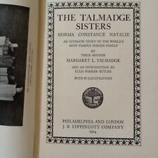 Talmadge Sisters by Mother Silent Film Actresses Dw Griffith Keaton Photos 1924