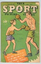True Sport Picture Stories Vol 3 #6 March 1946 FR/G Boxing cover