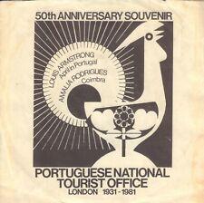 "LOUIS ARMSTRONG / AMALIA RODRIGUES - April In Portugal (1981 UK VINYL SINGLE 7"")"