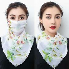 Hot sell mouth Lightweight Face scarf Sun Protection Outdoor silk Handkerchief