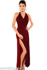 GARNET Contrasting Reds Long Dress  Fits Sizes Small 8-10 & Medium 12