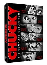 CHUCKY COMPLETE COLLECTION CHILDS PLAY 1,2,3,4,5,6 DVD SET NEW & SEALED!