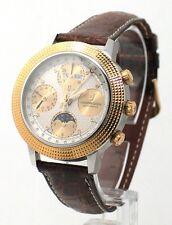 UNIVERSAL crono calendario fasi funa acciaio/oro giallo 18Kt Argenté 1044199001