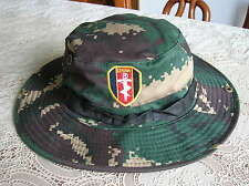 07's series China Pla Special Forces Digital Camouflage Boonie Hat,A