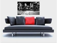 "NAS & DAMIAN MARLEY BORDERLESS MOSAIC TILE WALL POSTER 35"" x 25"" RAP HIP HOP"