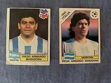 DIEGO ARMANDO MARADONA - PANINI ITALIA 90 & USA 94 STICKERS - ULTRA RARE