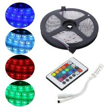 5M LED Light Strips RGB 5050 SMD Waterproof lamp Party decoration 12V IR Kit
