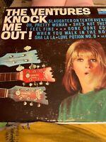 """THE VENTURES   """"Knock Me Out!""""   1965 Vinyl LP    Dolton  BLP 2033  VG+"""