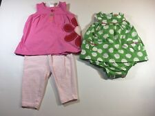 Carters 6 Month Baby Girl Spring/summer Outfits Causal Floral Sleeveless