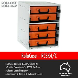 RolaCase RCSK4/C storage tool box organiser van shelving racking Storage GENUINE