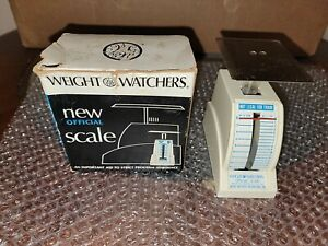 Vintage Weight Watchers Food Scale In Box 1968