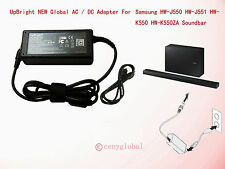 AC Adapter For Samsung HW-F335 HW-F350 HW-F550 Bluetooth SoundBar Speaker System