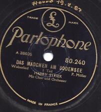 Harry Steier 1931  :Das Mädchen am  Bodensee