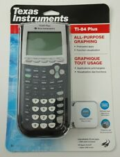 Texas Instruments TI-84 Plus Graphing Calculator - Black - NEW SEALED