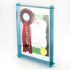 Acrylic Box Frame - Photo Display - Photo Frame - 58 Colours - Memory Box