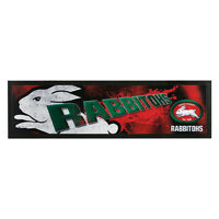 South Sydney Rabbitohs NRL Bar Runner Mat Man Cave Pool Room Fathers Day Gift
