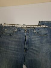 Levi's 550 Relaxed Fit Mens Jeans Light Blue Size 36 x 29