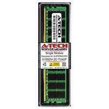 16GB PC4-17000 ECC RDIMM Server Memory RAM for SUPERMICRO X10SDV-2C-TLN2F