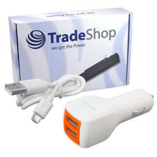 Universal 2-fach USB Kfz-Adapter Auto Ladegerät für ZTE Blade L5 V6 V7